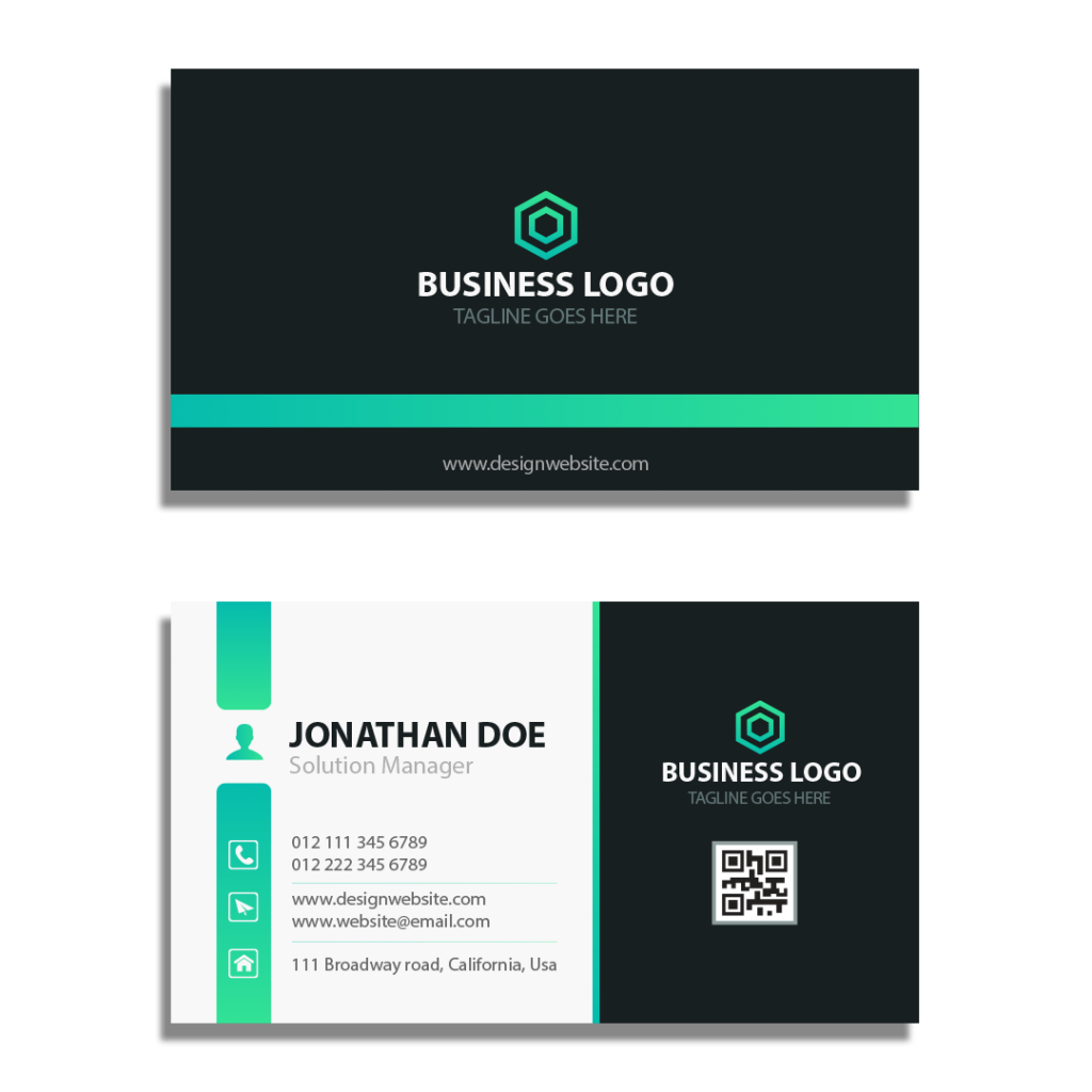 We create Visiting Card for Business Startup Plan
